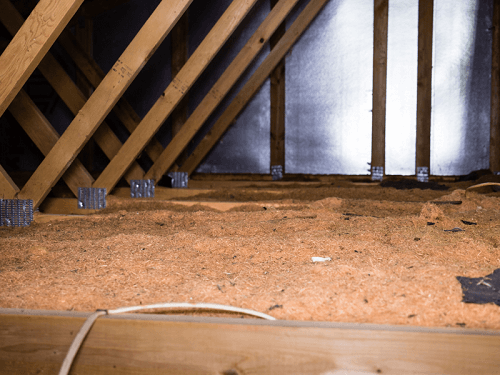 Contaminated attic1 american crawlspace cleanouts for American crawlspace reviews